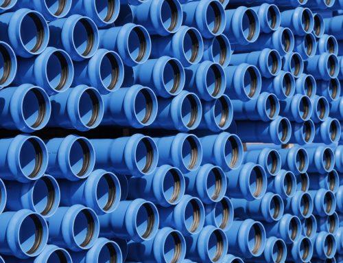 Tubo PVC com junta autoblocante
